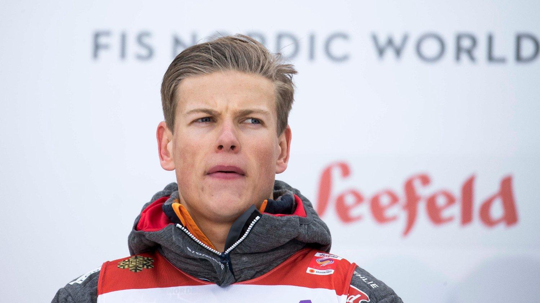 I HØYDEN: Johannes Høsflot Klæbo drar i slutten av måneden med resten av laget på høydesamling i Pyreneene.