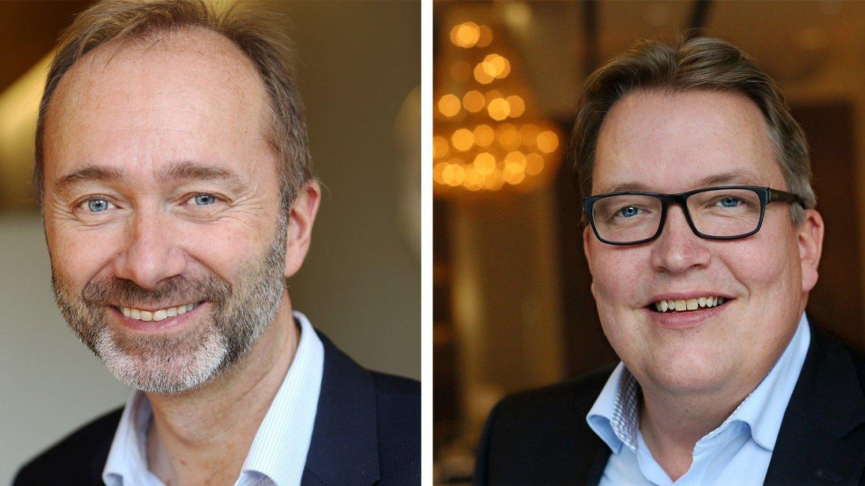 Trond Giske og Sverre Myrli.