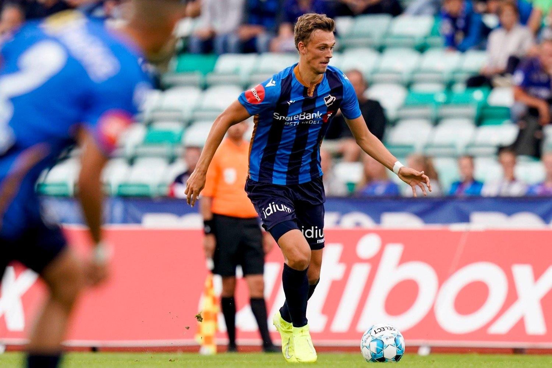 STRÅLENDE: Emil Bohinen scoret et nydelig mål mot Kristiansund.