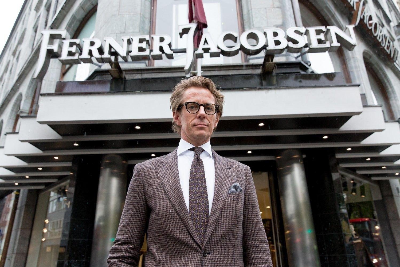 MÅ TENKE NYTT: Carl-Christian Ferner og Ferner Jacobsen må tenke nytt for ikke å tape omsetning.