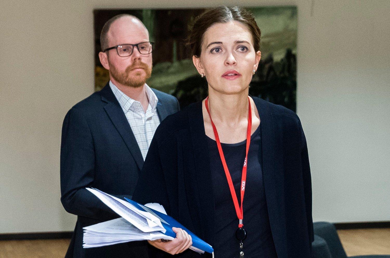 Sjefredaktør Gard Steiro og nyhetsredaktør Tora Bakke Håndlykken i VG erkjenner flere brudd på god presseskikk. Foto: Berit Roald / NTB scanpix