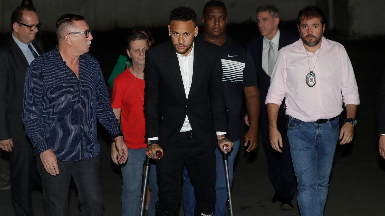 SKADEUTSATT: Neymar har slitt med skader de siste månedene.