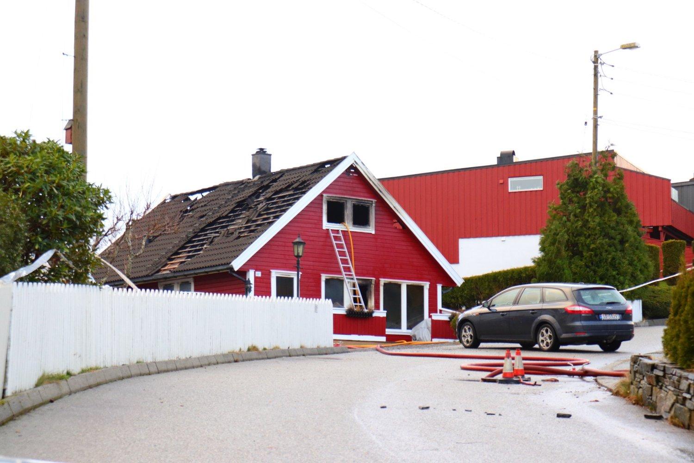 Kvinnen ble funnet død i et hus i Haugesund. Foto: Kjell Bua / NTB scanpix