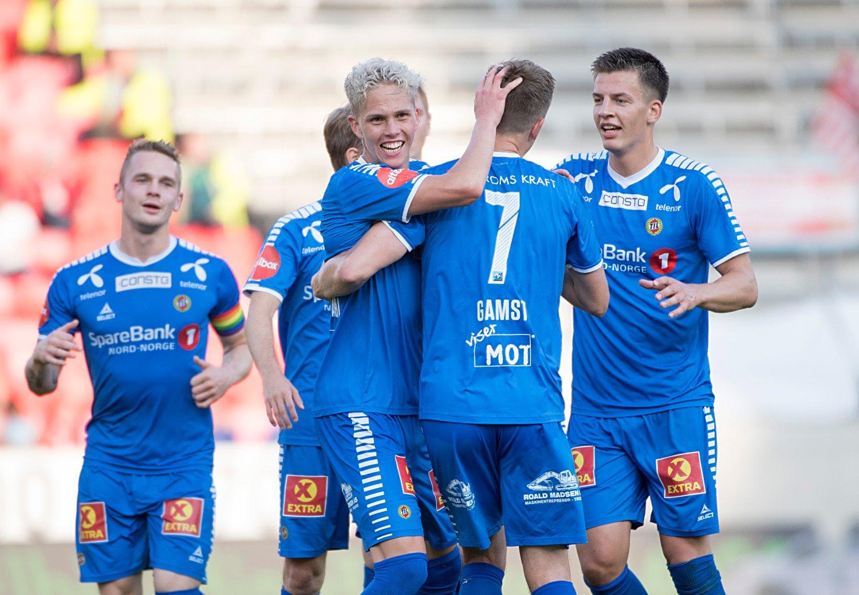 Onni Valakari scoret et nydelig mål mot Brann. Foto: Marit Hommedal / NTB scanpix