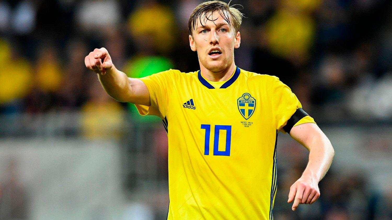LAR SEG IKKE STRESSE: Emil Forsberg mener Sverige de siste årene har vist at de er et veldig godt landslag.