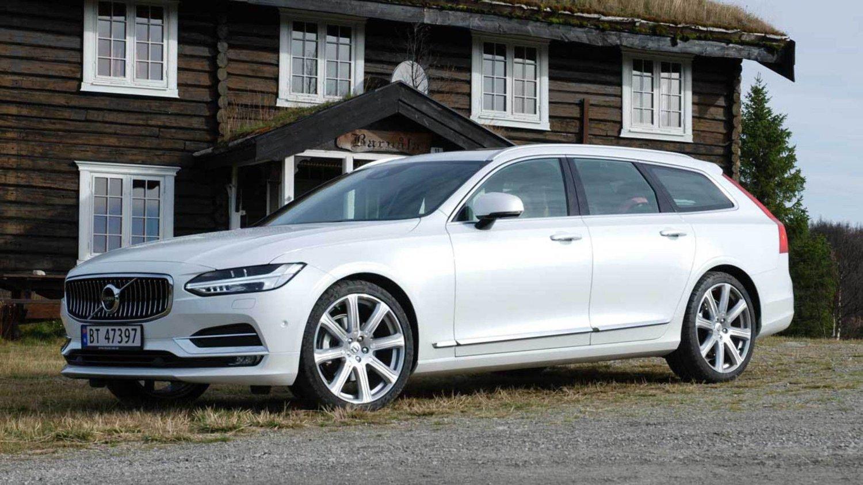 Volvo V90 har vært med oss i tre år, dermed er det også snart klart for en oppdatering.