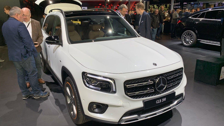 Spennende nyhet fra Mercedes på bilutstillingen i Frankfurt, dette er nye GLB.
