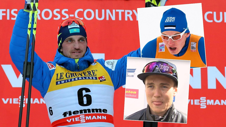 DOPINGSKANDALE: Aleksej Poltoranin, Karel Tammjärv og Andreas Veerpalu ble alle utestengt fra VM i Seefeld.