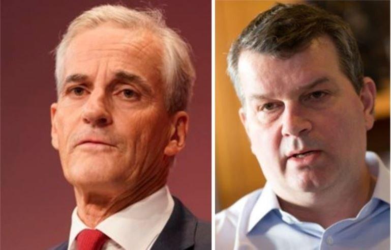 Stadig færre i Arbeiderpartiet har tro på Jonas Gahr Støre. Stadig flere har tro på Hans-Christian Gabrielsen.