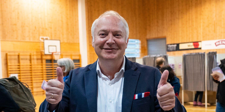SUKSESS: Vidar Kleppe i Demokratene kapret 13,5 prosent av stemmene i Kristiansand. Nå vil han forene seg med andre småpartier.