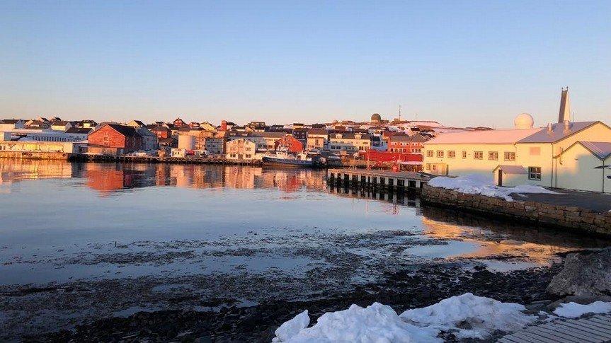 Vardø er Norges østligste by og den eneste byen i Europa som ligger i arktisk klimasone. For MDG går det bedre her enn noe annet sted.