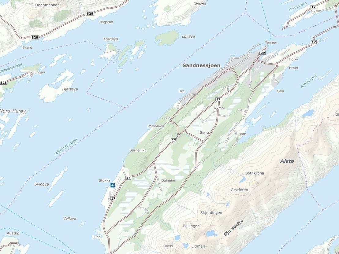 Alstahaug tingrett og Sandnessjøen lufthavn ble onsdag evakuert etter at det ble ringt inn trusler.