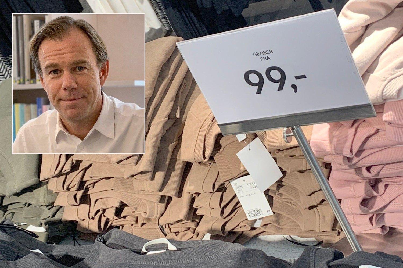 SKAMFRYKT: Hennes & Mauritz-toppsjef Karl Johan Larsson frykter