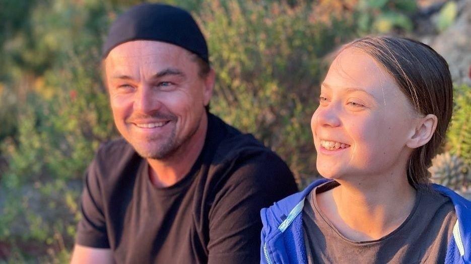 Leonardo DiCaprio hyller Greta: - Hun er en leder i vår tid, skriver han på Instagram.