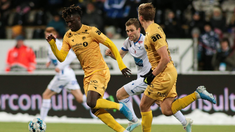 STOR FREMTID?: Victor Boniface har imponert stort for Bodø/Glimt.