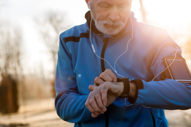 DEMENS: God kondisjon beskytter mot demens - også hvis du kommer sent i gang med treningen.