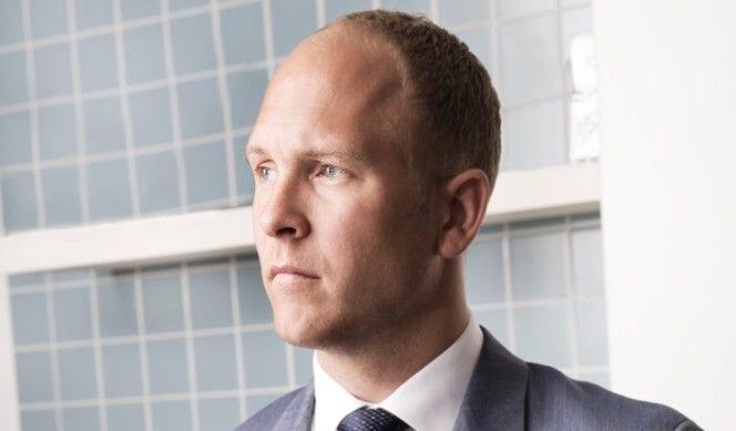 PÅ TOPP: Eiendomsmegler Fredrik Dyve tjener desidert mest av alle eiendomsmeglere her til lands i fjor.