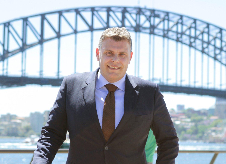 PÅ REISE: Justisminister Jøran Kallmyr er i Australia for å delta på en internasjonal ministerkonferanse om å hindre terrorfinansiering. Han er også inspirert av Australias strenge grensekontroll.
