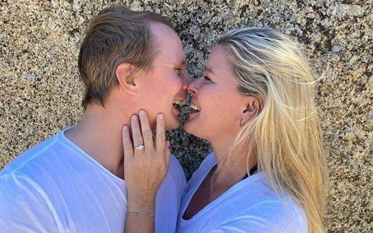 FORLOVET: Petter Pilgaard og Vendela Kirsebom skal gifte seg.