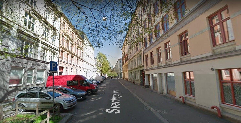Fra Sverdrups gate på Tøyen i Oslo der Det islamske kultursenter holder hus.