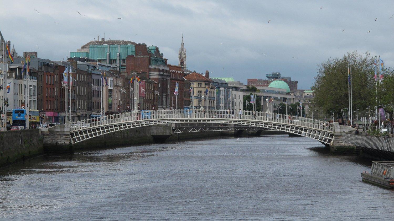 Dublin og elven Liffey