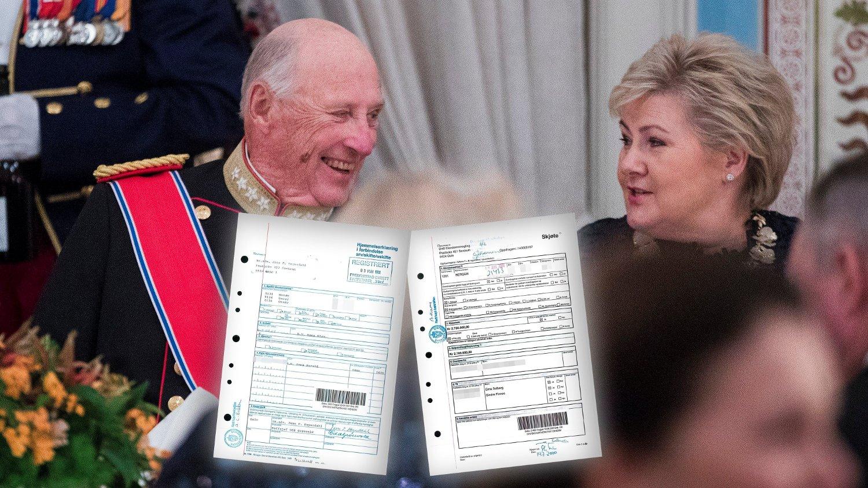 Statens kartverk sender ut personnummer i posten ved bestilling av eiendomsinformasjon. På denne måten fikk Nettavisen tilgang til kong Harald og statsminister Erna Solbergs personnummer.