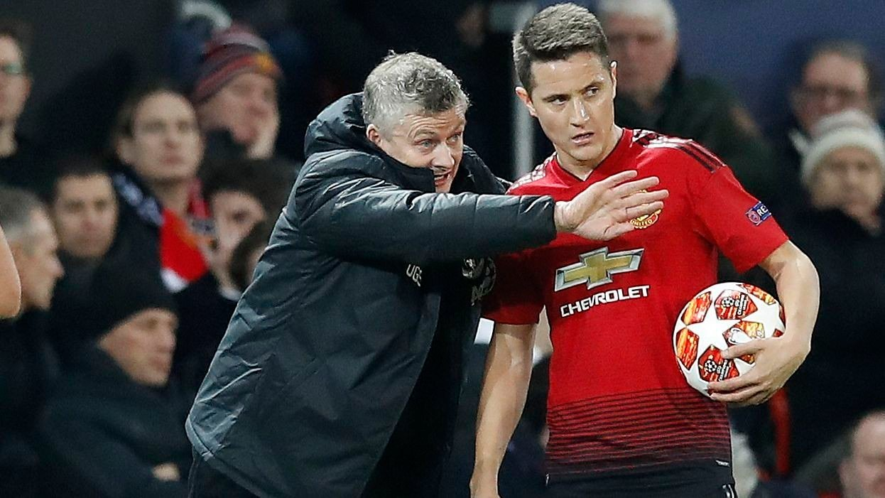 FORLOT UNITED: Ander Herrera forlot Manchester United til fordel for Paris Saint-Germain i sommer.