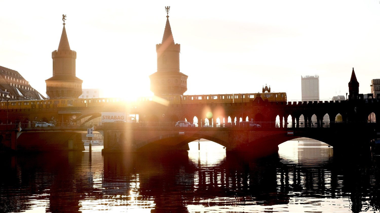 Oberbaumbrücke, Berlin.
