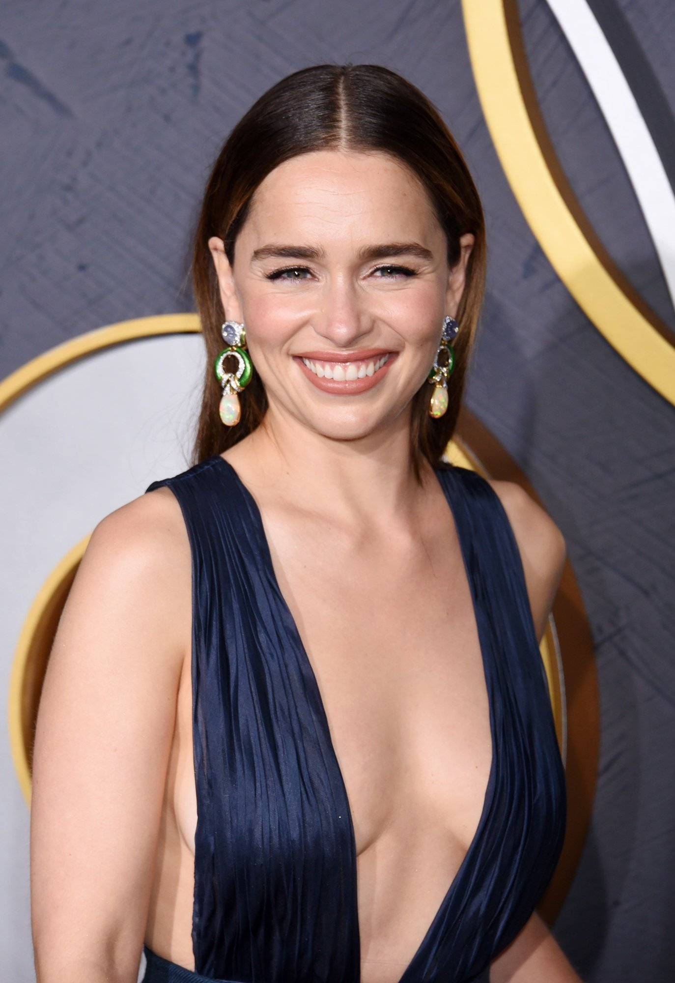71st Primetime Emmy Awards - HBO Party - Los Angeles 71st Primetime Emmy Awards - HBO Party - Los Angeles. Emilia Clarke attending the 2019 HBO Emmy Party held at the Pacific Design Center in Los Angeles, California URN:45529406