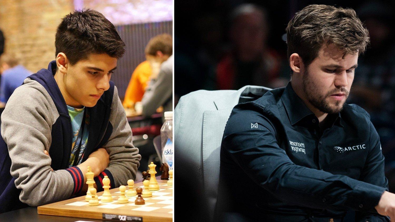 Aryan Tari og Magnus Carlsen deltar i The Banter Blitz Cup. Her er Aryan Tari under World Rapid Chess Championship 2015.