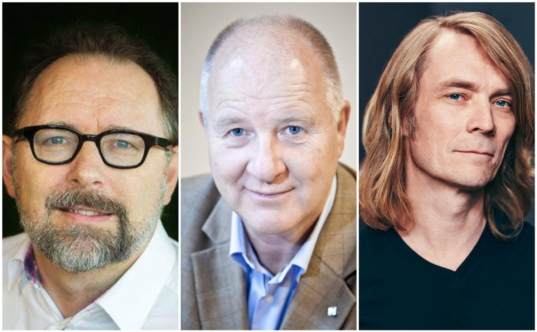 Frode Thuen, Peder Kjøs, Anders Skuterud