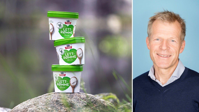 MILJØVENNLIG: Leder for Bærekraft, Bjørn Malm, og Tine er spente på reaksjonene fra de nye rømmebegrene.