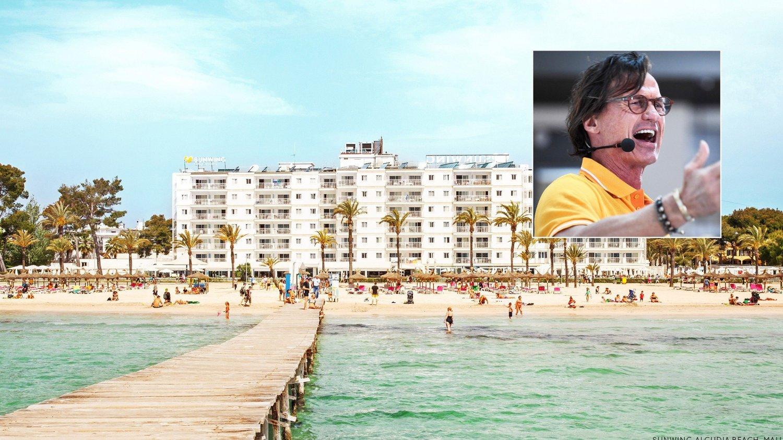 INN I SPANIA: Ving, der Petter Stordalen gikk inn som eier tidligere i høst, kjøper seg opp i den spanske hotellkjeden som eier en rekke populære hoteller blant annet på Gran Canaria og Mallorca. Bildet er fra Sunwing-hotellet i Alcudia på Mallorcas nordkyst.