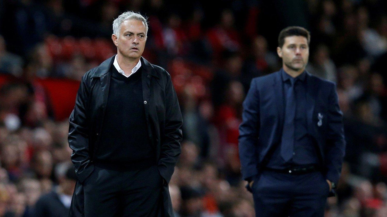 VIL HA SAMME EFFEKT: José Mourinho skal ha tekstet Harry Kane, som hadde et nært forhold til tidligere Spurs-trener Mauricio Pochettino , da avtalen var signert.