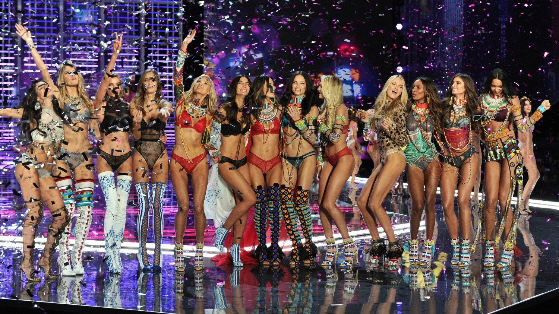Victorias Secret-shower avlyses. Her fra 2017.