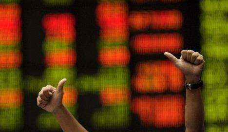 opptur jubel asia børs
