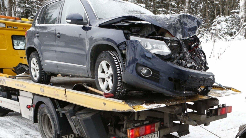 Det skal ikke veldig mye til før det kan bli betydelige skader på en bil. Denne uken kommer ekstra mange til å oppleve dette. Illustrasjonsfoto.