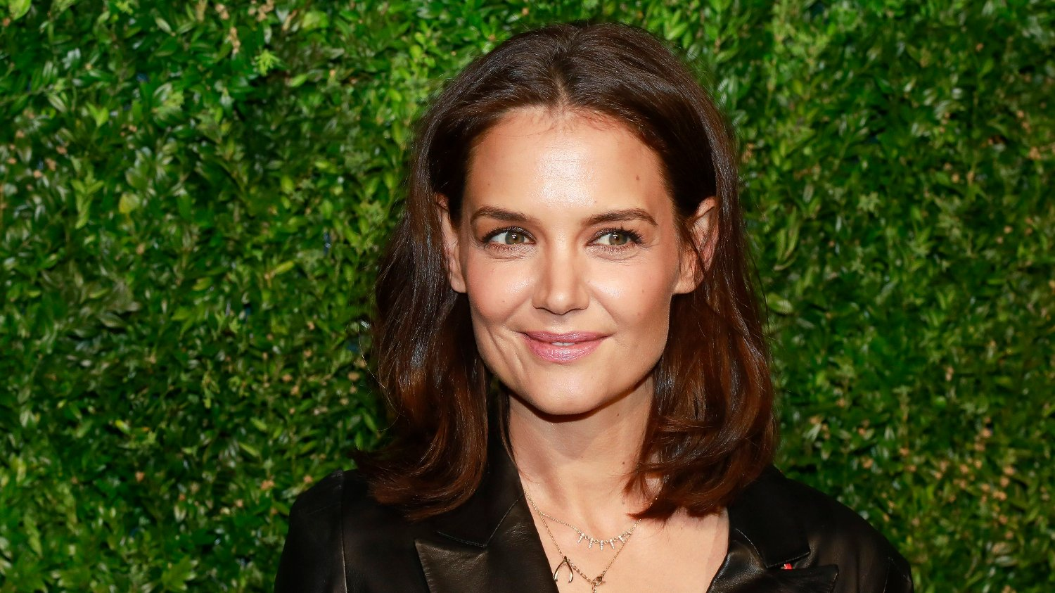 Katie Holmes Katie Holmes attends the 14th annual Chanel Tribeca Film Festival Artists Dinner at Balthazar on Monday, April 29, 2019, in New York.