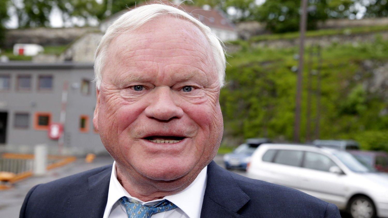 Oslo 20130605. Skipsreder John Fredriksen ankommer TradeWinds-festen på seilskuten Christian Radich i Oslo onsdag kveld.
