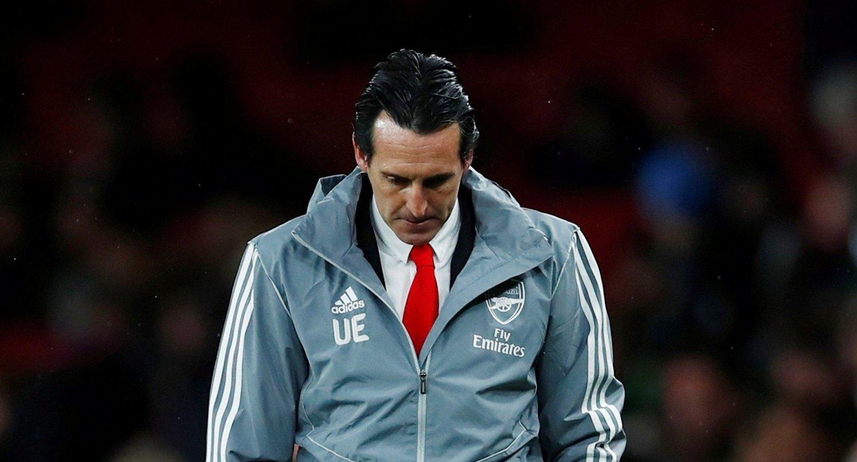 FERDIG: Unai Emery har fått sparken i Arsenal.