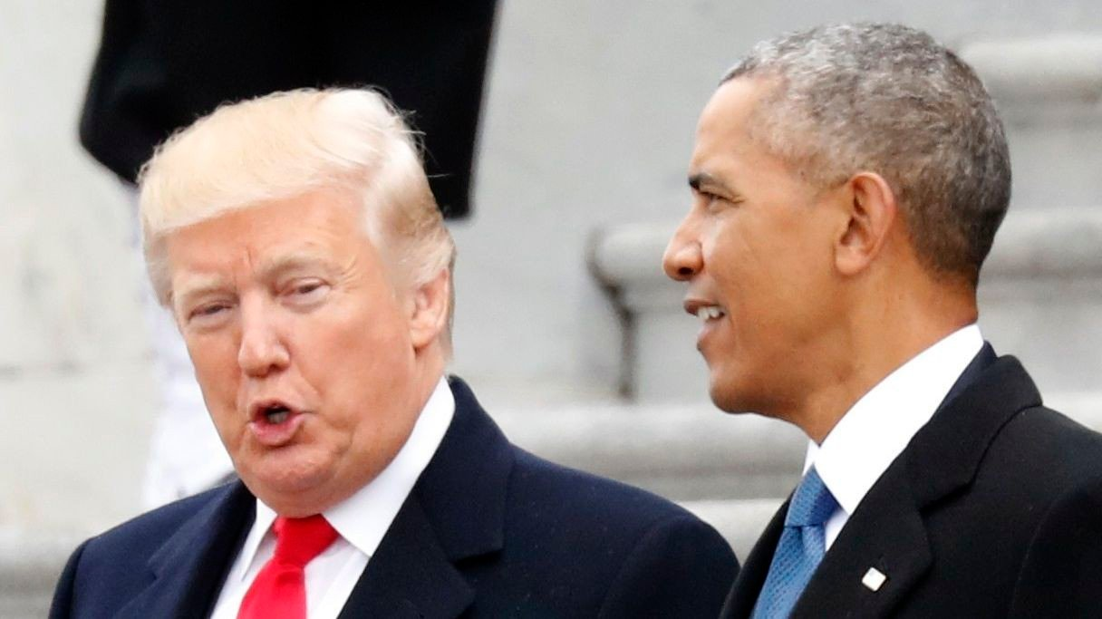Barack Obama, som foreløpig ikke har gitt noen offisiell støtteerklæring til noen av de demokratiske presidentkandidatene, har tidligere advart de demokratiske presidentkandidatene mot å bevege seg for langt til venstre. Han frykter det kan drive bort mange mulige velgere i kampen for en demokratisk seier over president Donald Trump.