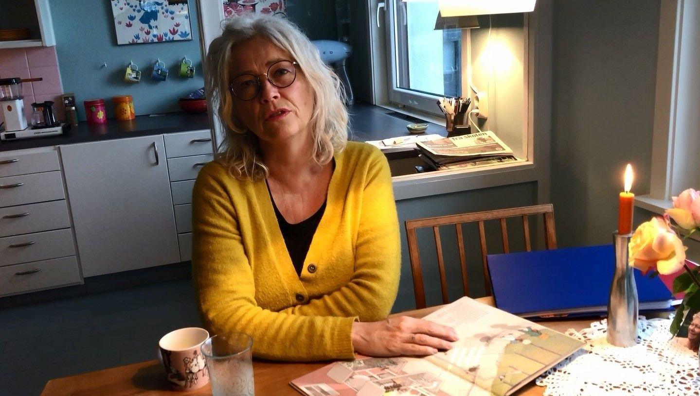 BELASTNING: Forfatter og norsklærer Hilde Henriksen opplever debatten rundt hennes bok