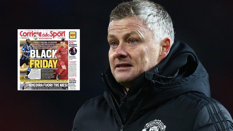 OPPGITT: Manchester United-manager Ole Gunnar Solskjær.