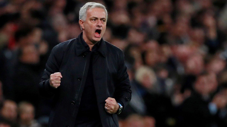 TILBAKE: José Mourinho er tilbake på Old Trafford, nå med sin nye klubb Tottenham.