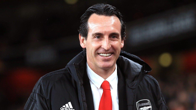 Arsenal v Eintracht Frankfurt - UEFA Europa League - Group F - Emirates Stadium Arsenal manager Unai Emery