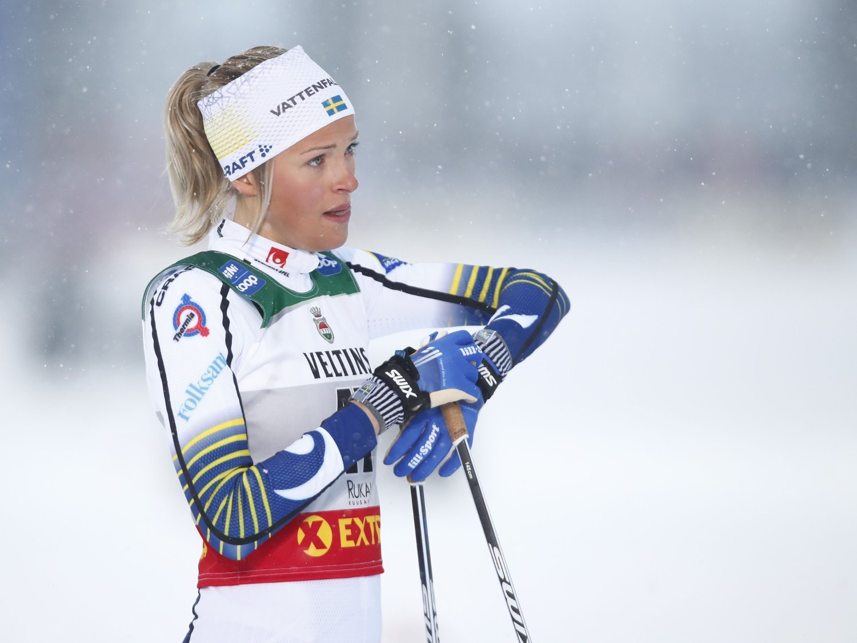MÅ TA PAUSE: Frida Karlsson. Her avbildet i finske Ruka tidligere i sesongen.