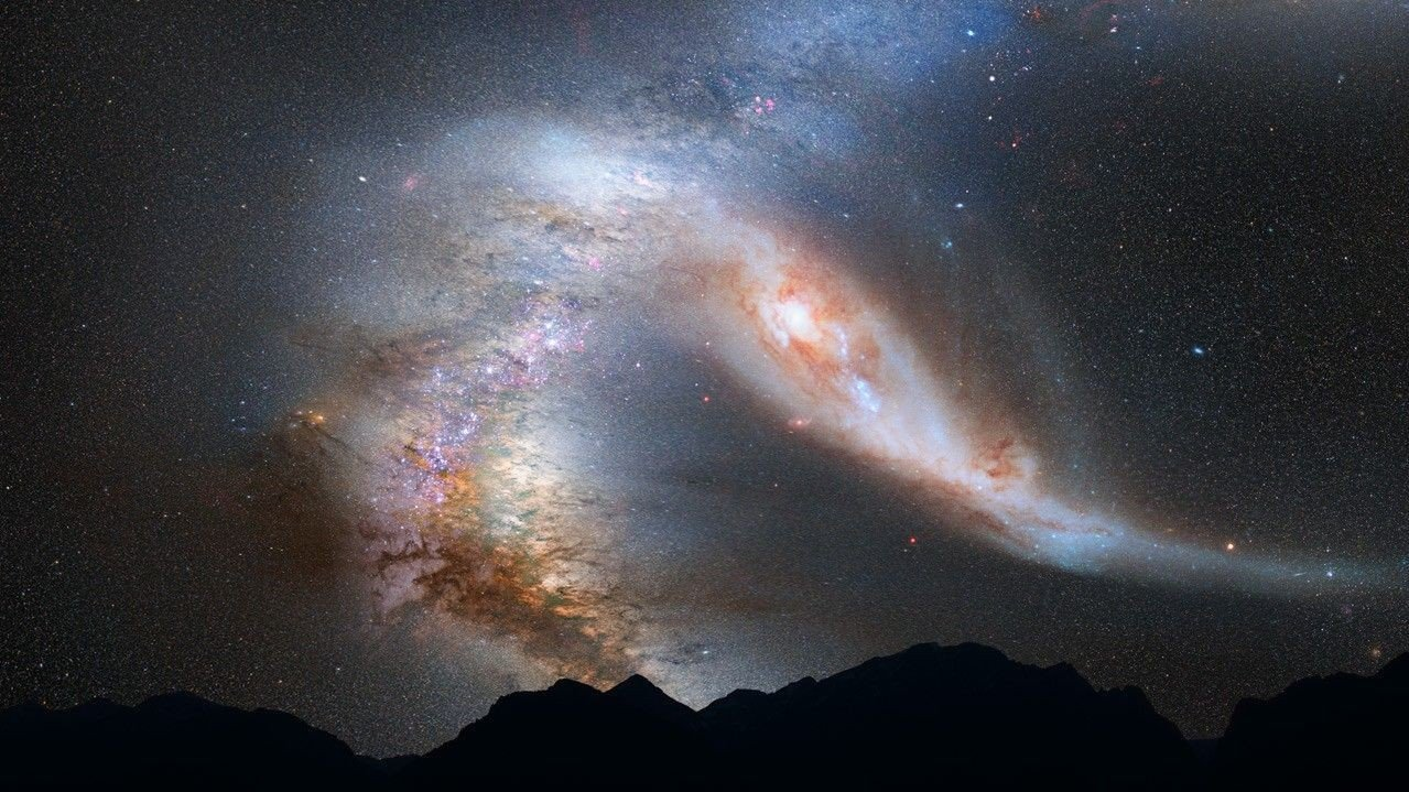 Scientists have it in – the next major event to occur in our Galaxy will by a collision between the Milky Way and Andromeda galaxies. However, neither the Earth nor the Sun will be harmed in the making of the collision. And not to worry, you won't be harmed either because it is set to happen about 4 billion years from now. The sheer idea alone that our galaxy is going to literally run into another is what makes this image the pick for 2012.
