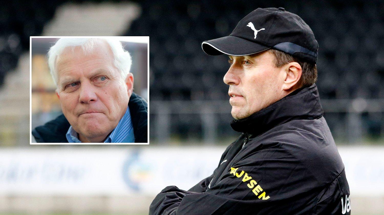 FORBANNA: Ivar Hoff gir LSK-trener Tom Nordlie det glatte lag etter nedrykk fra Eliteserien.