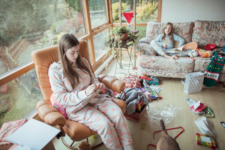 Julegaveåpning
