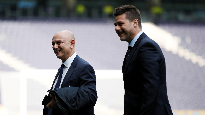 SKILT: Tottenham-styreformann så seg til slutt nødt til å sparke Mauricio Pochettino.